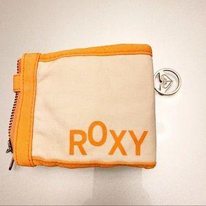 Roxy | Fabric Folded Wallet | Washable | Orange